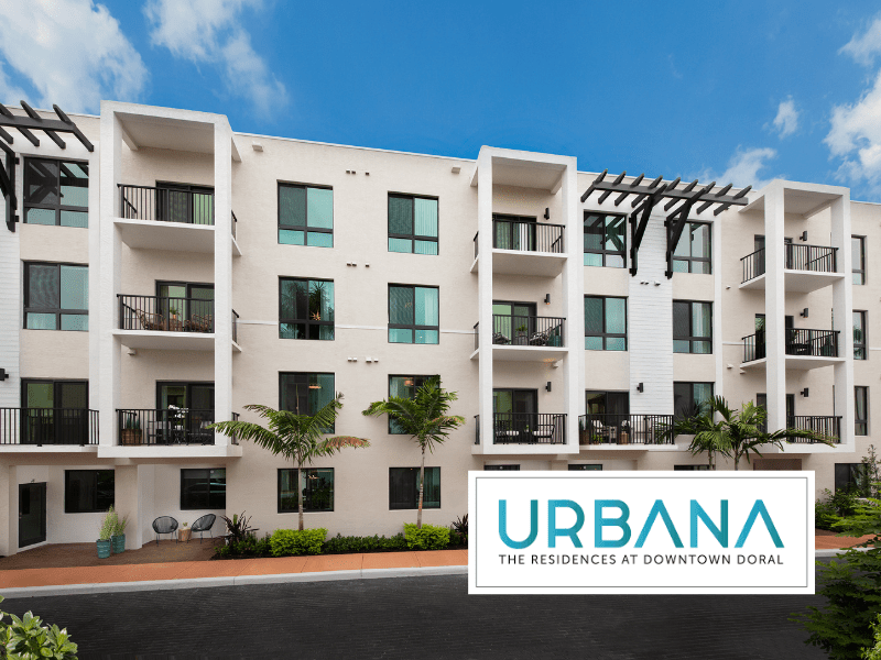 Urbana, the residences at downtown doral